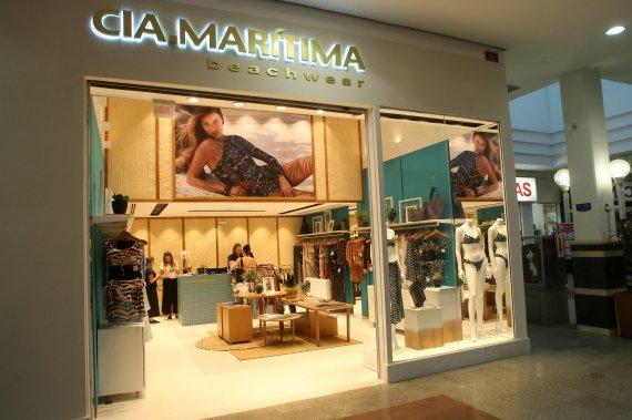 ee9d9acfe Cia.Marítima inaugura loja no Shopping Mueller - Atrações - Shopping ...